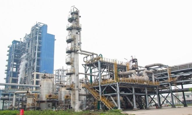 Một góc Nhà máy đạm Ninh Bình.