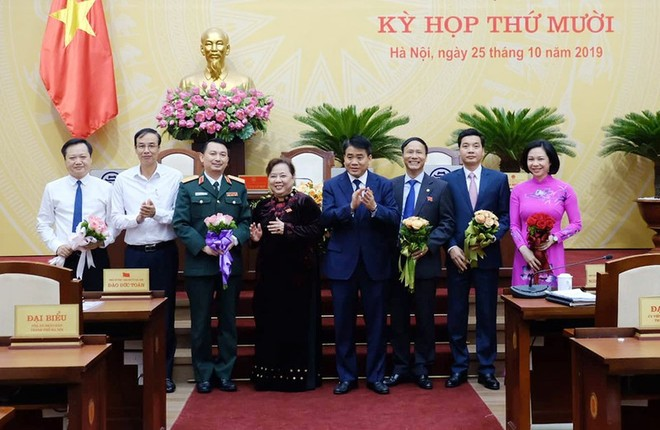 Hà Nội họp HĐND bất thường, bầu bổ sung 4 Ủy viên UBND Thành phố