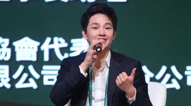 Eric Tse tham dự một hội nghị thượng đỉnh của doanh nhân trẻ tại Trung Quốc năm 2018. Ảnh: Instagram của Eric Tse.
