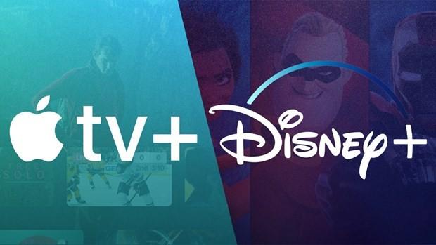 Apple và Disney hướng tới cạnh tranh trực tiếp với 'người tiên phong' Netflix. (Nguồn: medium.com).
