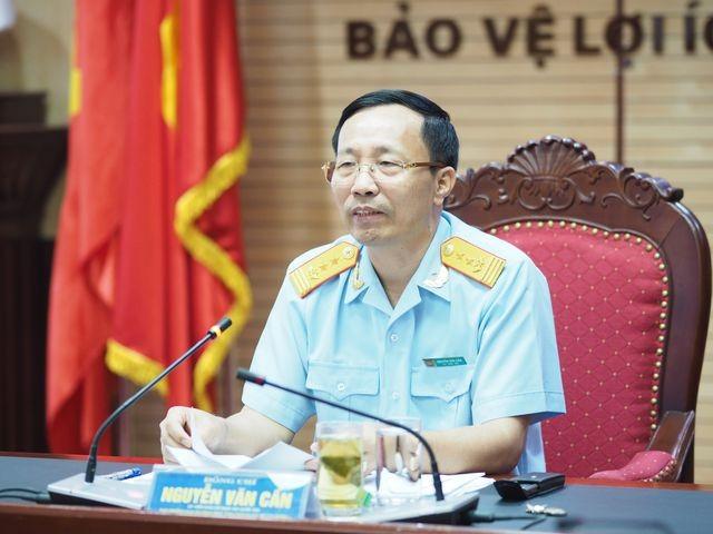Ông Nguyễn Văn Cẩn, Tổng cục trưởng, Tổng cục Hải quan.