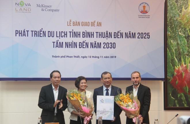 Novaland đồng hành cùng McKinsey & Company lập đề án định hướng phát triển du lịch Bình Thuận.
