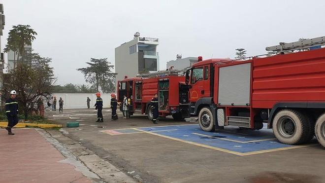 Hà Nội: Xảy ra cháy tại trường mầm non trong lúc dọn vệ sinh