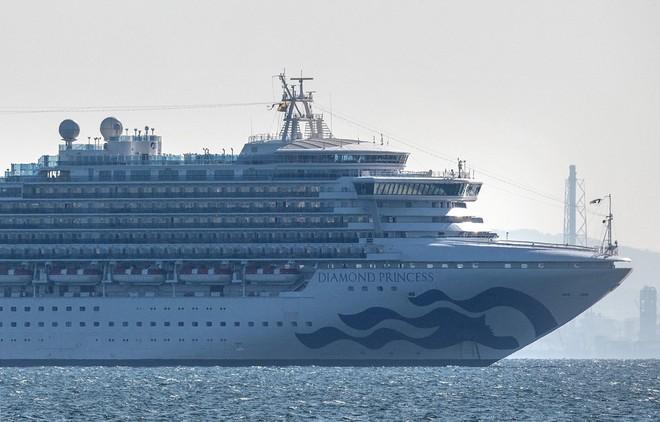 Du thuyền Diamond Princess. (Nguồn: Getty Images).
