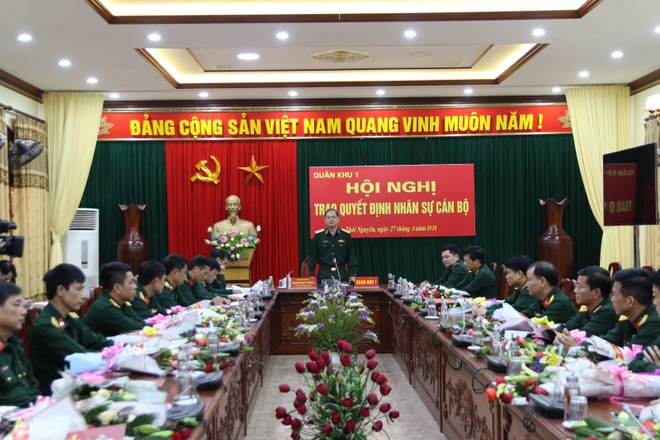 Điều động Phó Tham mưu trưởng Quân khu 1 về Bộ Tổng Tham mưu ảnh 1