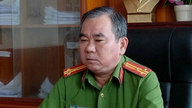 Thượng tá Bùi Thanh Sơn.