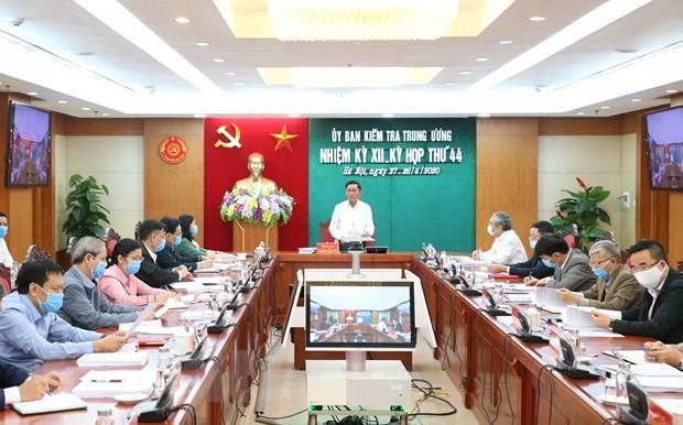 Đồng chí Trần Cẩm Tú chủ trì cuộc họp. Ảnh: TTXVN.