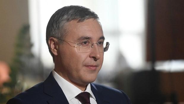 Bộ trưởng Giáo dục và Khoa học Nga Valery Falkov. (Nguồn: Sputnik).