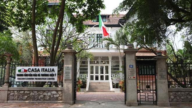 Trung tâm Văn hóa và Thương hiệu Italy tại Việt Nam. (Ảnh: Tasteem).