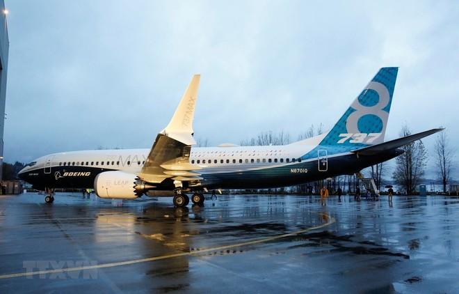 Máy bay 737 MAX của Boeing tại nhà máy ở Renton, Washington, Mỹ. (Ảnh: AFP/TTXVN).