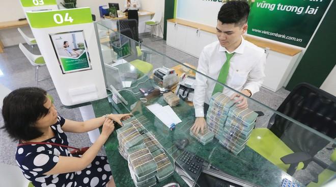 Vietcombank đã chủ động tăng trích lập dự phòng, dù nợ xấu tăng nhẹ.