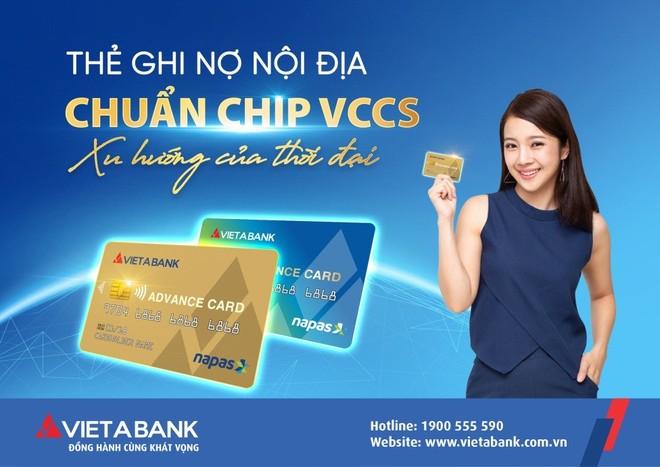 6 tháng đầu năm, VietABank có kết quả kinh doanh tương đối khả quan, ra mắt thẻ chip nội địa ảnh 1