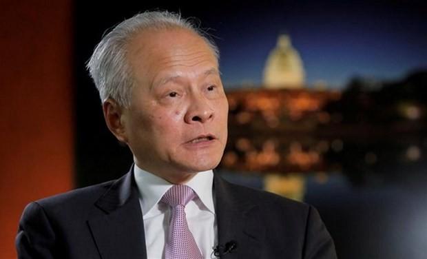 Đại sứ Trung Quốc tại Mỹ Thôi Thiên Khải. (Nguồn: Reuters).