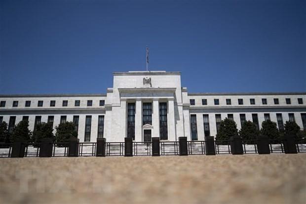 Trụ sở Ngân hàng Dự trữ Liên bang Mỹ (Fed) tại Washington, D.C., Mỹ. (Ảnh: THX/TTXVN).