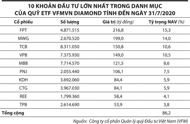 Thị trường chứng khoán Việt Nam: Quỹ ETF nội hút vốn ngoại ảnh 1