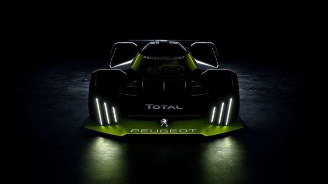 Peugeot trở lại giải đua Le Mans 2022 với mẫu siêu xe có thiết kế đến từ tương lai