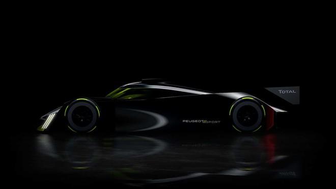 Peugeot trở lại giải đua Le Mans 2022 với mẫu siêu xe có thiết kế đến từ tương lai ảnh 1