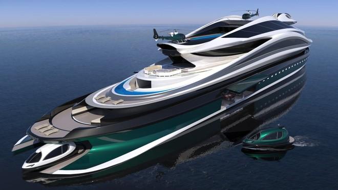 """Mẫu thiết kế siêu du thuyền mô phỏng """"thiên nga"""" trị giá 500 triệu USD độc đáo nhất thế giới ảnh 5"""