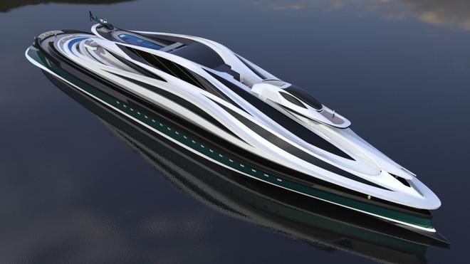 """Mẫu thiết kế siêu du thuyền mô phỏng """"thiên nga"""" trị giá 500 triệu USD độc đáo nhất thế giới ảnh 2"""