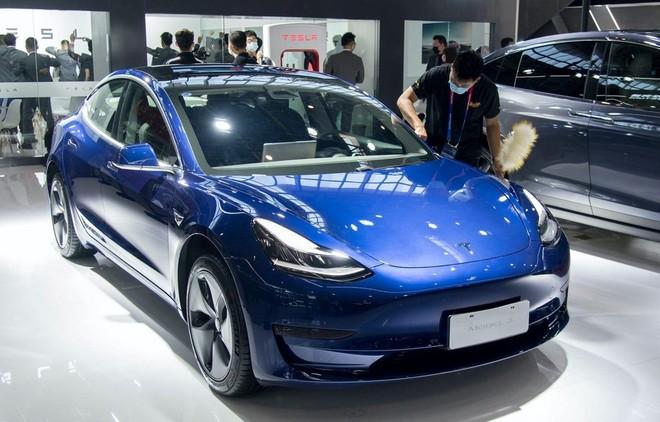 Mẫu ôtô điện Model 3. (Nguồn: Getty Images).