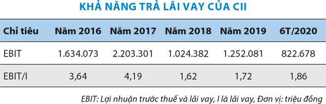 Đầu tư hạ tầng kỹ thuật TP.HCM (CII) lún sâu trong đống nợ ảnh 2