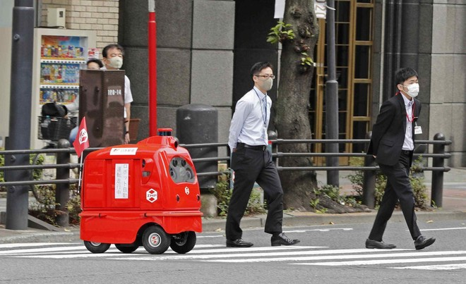 Nhật Bản ra mắt robot tự động chuyển phát hàng hóa ảnh 1