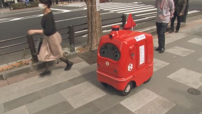 Nhật Bản ra mắt robot tự động chuyển phát hàng hóa ảnh 2