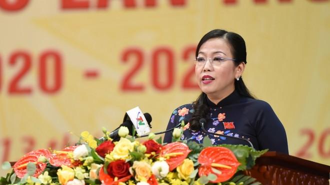 Bà Nguyễn Thanh Hải tái đắc cử chức vụ Bí thư Tỉnh ủy Thái Nguyên.