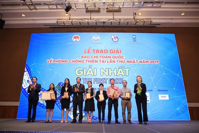 Báo Đầu tư giành giải Nhì Giải báo chí toàn quốc về Phòng chống thiên tai ảnh 1