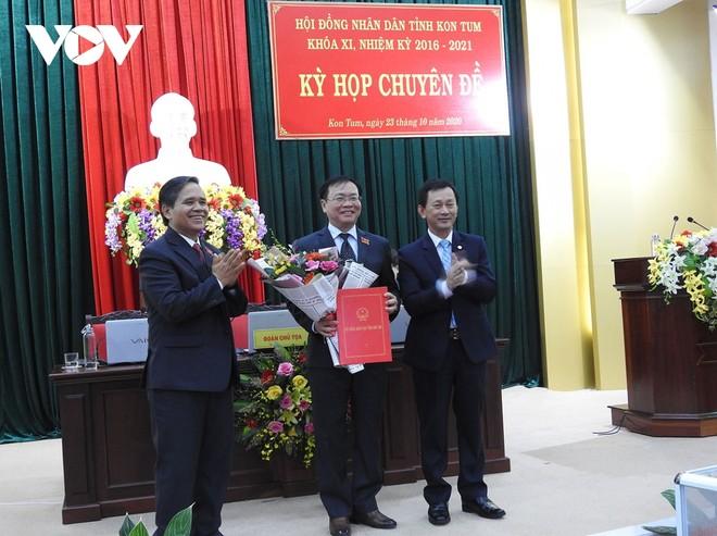 Kon Tum có tân Chủ tịch HĐND và UBND tỉnh ảnh 1