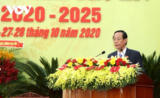 Ông Nguyễn Đức Thanh tái đắc cử Bí thư Tỉnh ủy Ninh Thuận.
