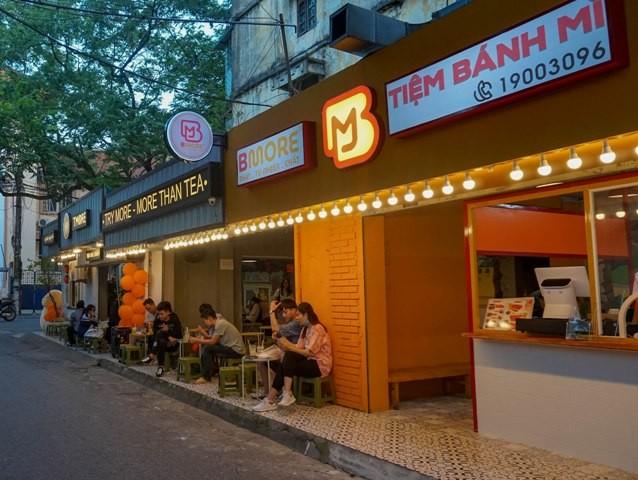 Bmore còn dự định phát triển hàng chục kiosk nhượng quyền kinh doanh bán các loại bánh trong quý 4/2020.