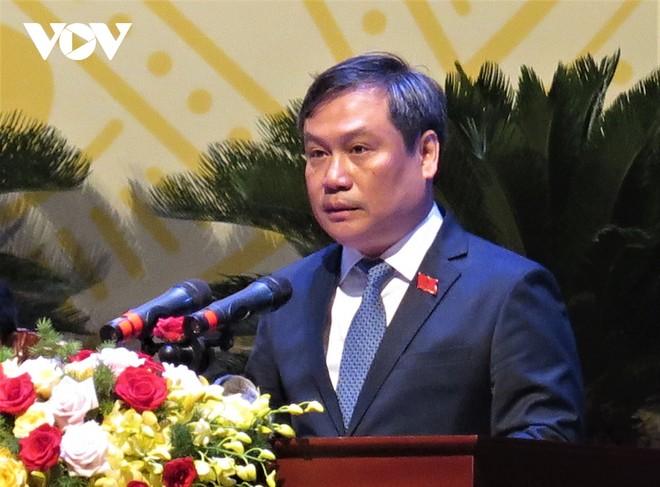 Ông Vũ Đại Thắng tái đắc cử Bí thư Tỉnh ủy Quảng Bình khóa XVII, nhiệm kỳ 2020-2025.