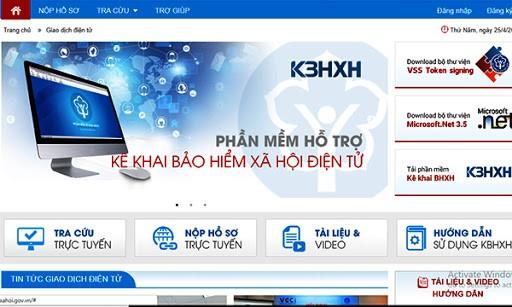 Chức năng đóng bảo hiểm xã hội 24/7 trên Cổng giao dịch điện tử của Bảo hiểm Xã hội Việt Nam chính thức đi vào hoạt động