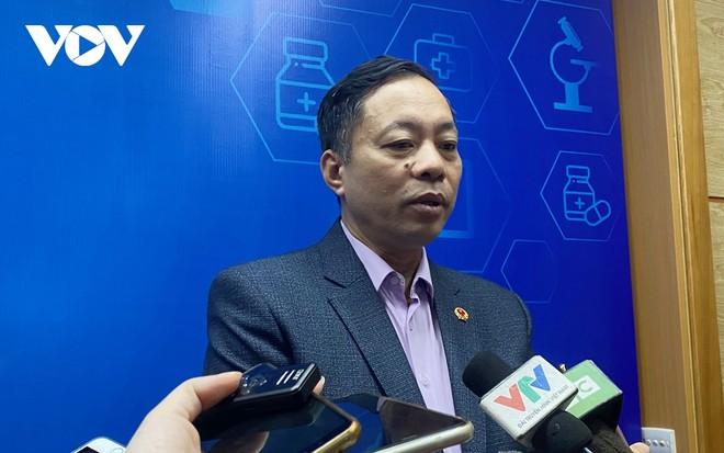 Ông Vũ Tuấn Cường, Cục trưởng Cục Quản lý Dược, Bộ Y tế.