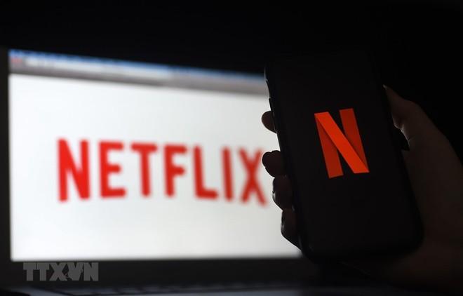 Biểu tượng Netflix. (Ảnh: AFP/TTXVN).