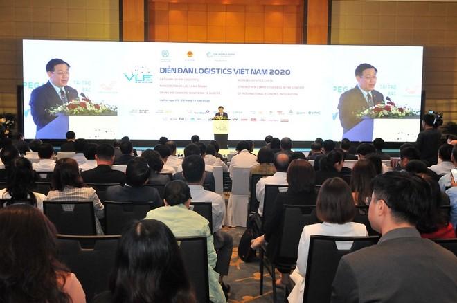 """Diễn đàn Logistics 2020 với chủ đề """"Cắt giảm chi phí logistics nhằm giúp nâng cao khả năng cạnh tranh của doanh nghiệp trong bối cảnh hội nhập kinh tế """"."""