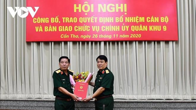 Trao quyết định bổ nhiệm Phó Tổng Tham mưu trưởng Quân đội nhân dân Việt Nam ảnh 1