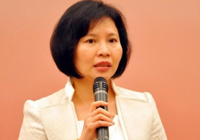Bà Hồ Thị Kim Thoa, nguyên Uỷ viên Ban cán sự đảng, nguyên Thứ trưởng Bộ Công Thương.