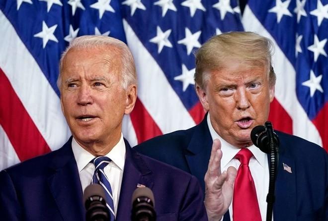 """Joe Biden khó đảo ngược chính sách """"Nước Mỹ trước tiên"""" của Trump. Ảnh: Getty."""