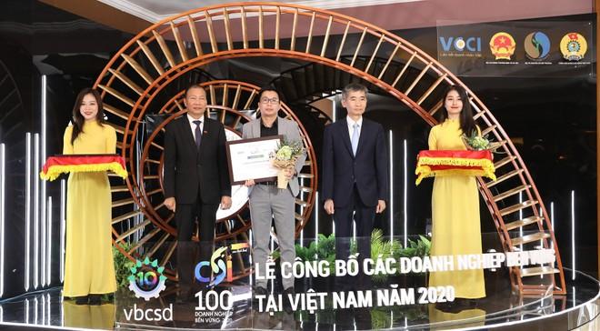 Phenikaa và Vicostone tiếp tục được vinh danh Top 100 doanh nghiệp phát triển bền vững năm 2020 ảnh 1