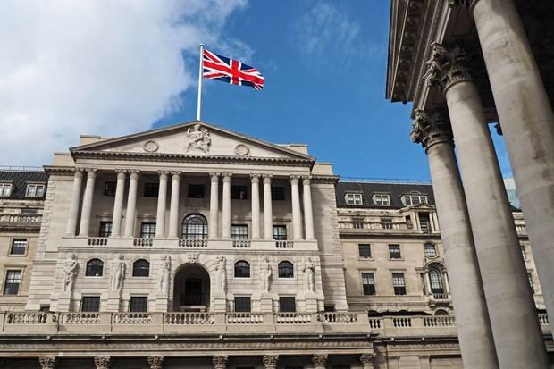 Trụ sở của Ngân hàng trung ương Anh. (Ảnh: Getty Images).