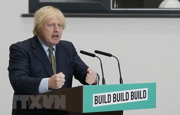 Thủ tướng Anh Boris Johnson. (Ảnh: THX/TTXVN).