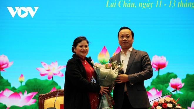 Bà Giàng Páo Mỷ, Ủy viên Trung ương Đảng, Bí thư Tỉnh ủy, Trưởng đoàn Đại biểu Quốc hội tỉnh được bầu giữ chức danh Chủ tịch HĐND tỉnh khóa XIV.
