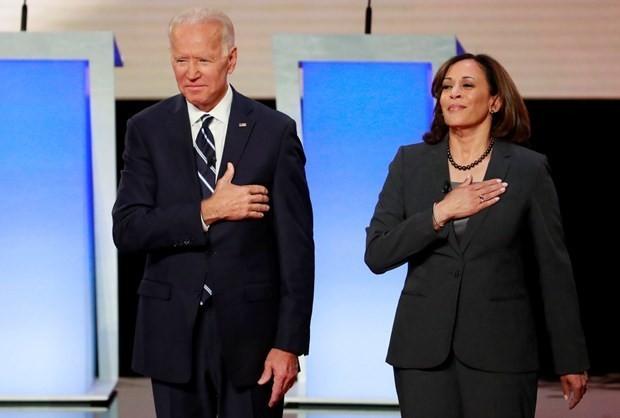 Ông Joe Biden và bà Kamala Harris. (Ảnh: Reuters),