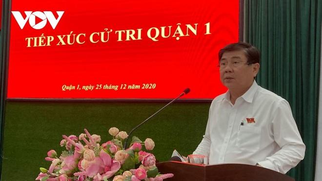 Chủ tịch UBND TPHCM Nguyễn Thành Phong.