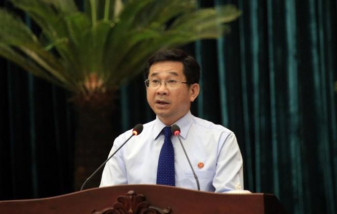 Ông Dương Ngọc Hải, Chủ nhiệm Ủy ban Kiểm tra Thành ủy TP.HCM.
