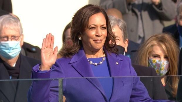 Phó Tổng thống Mỹ Kamala Harris. (Ảnh: Bay Area News Group).