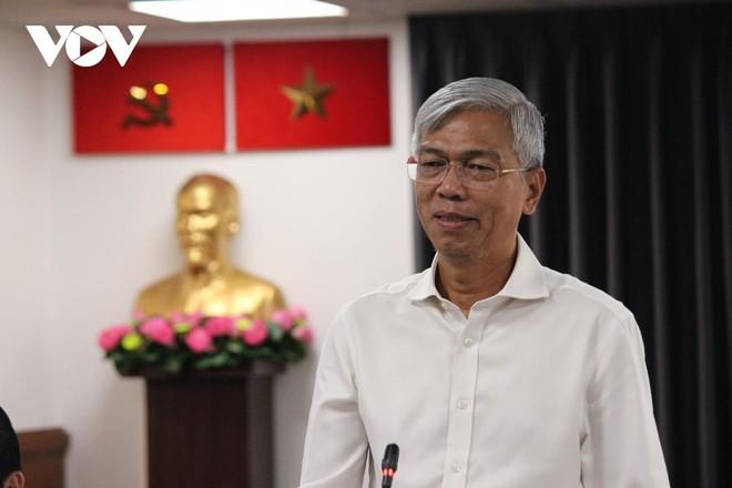 Ông Võ Văn Hoan, Phó Chủ tịch TPHCM cung cấp thông tin cho báo chí.