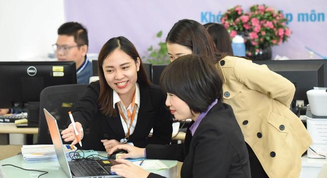 Năm 2020, lợi nhuận sau thuế công ty mẹ VNDIRECT đạt 689,1 tỷ đồng, tăng 78% so với cùng kỳ năm trước đó. Ảnh: Dũng Minh.